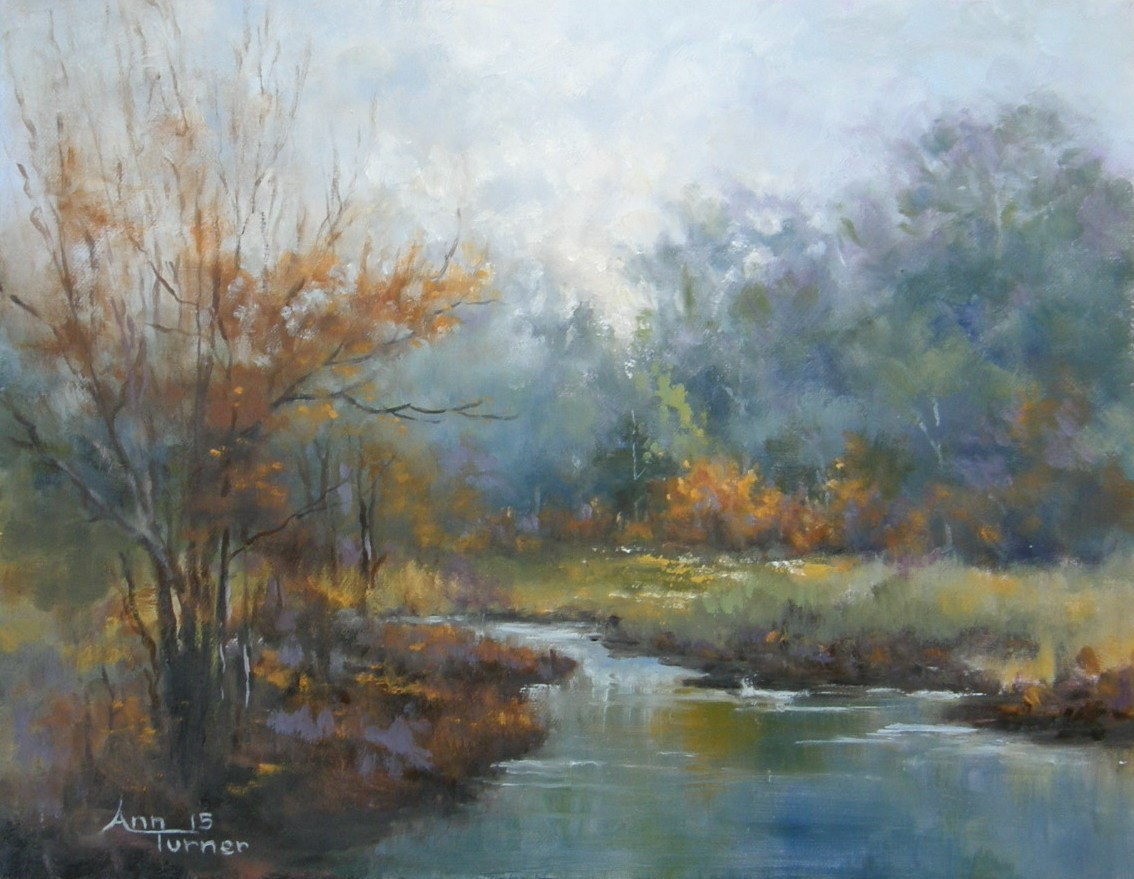 Painting of Bay Lands Autumn