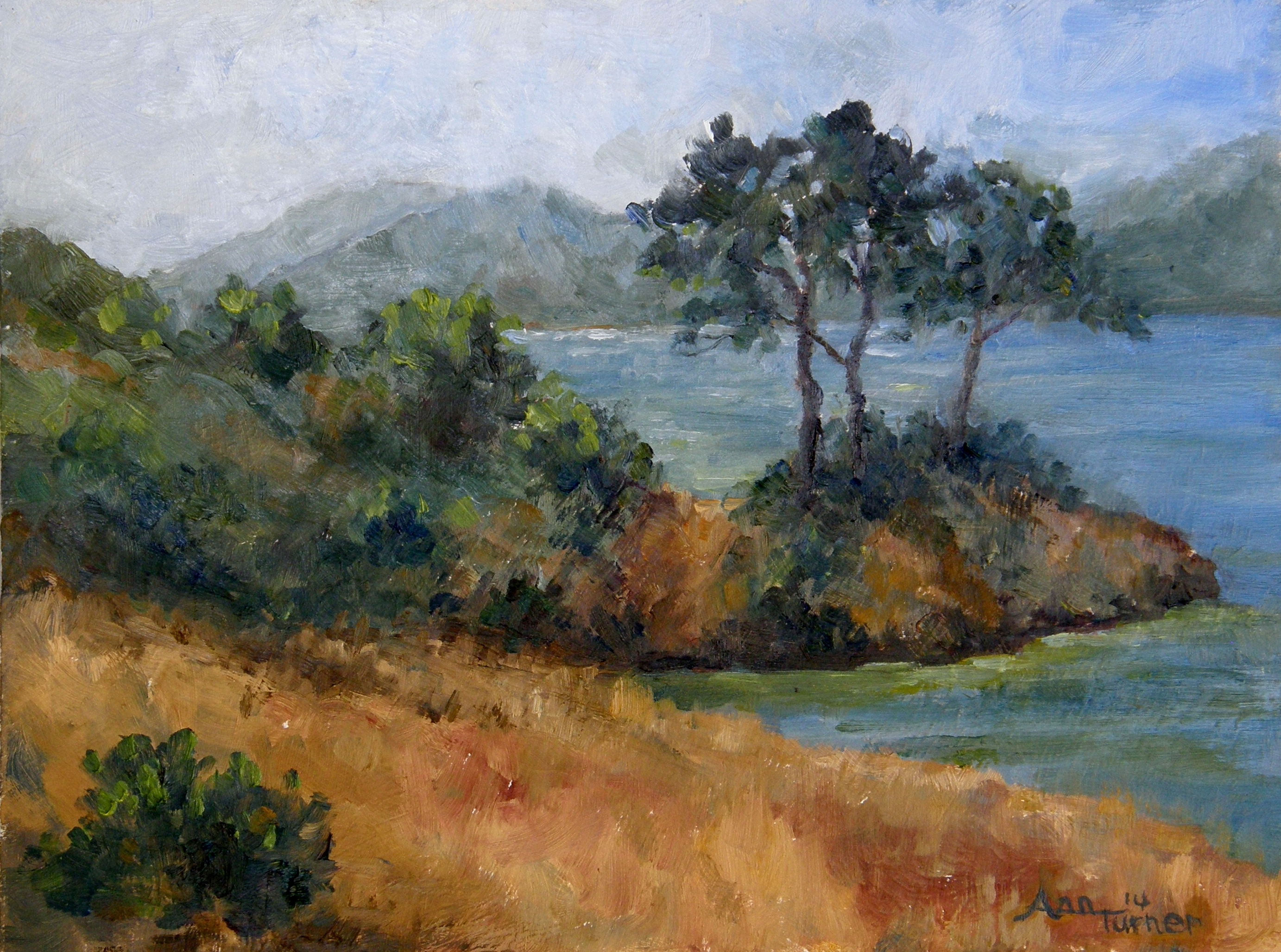 Painting of Crystal Springs