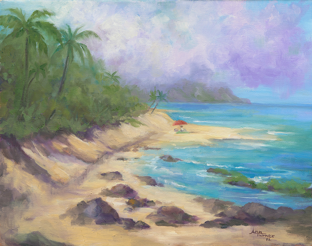Painting of Turtle Bay